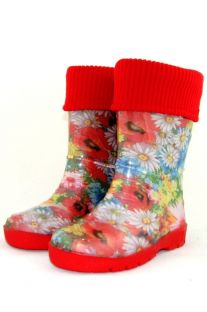 Boots teenage with a cuff warmed Color 401